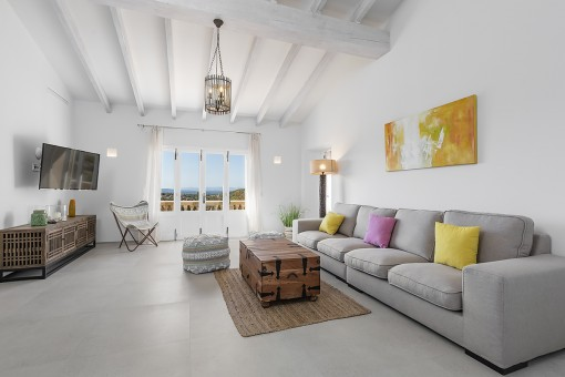 Living area with pleasant ambience