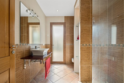 One of 8 bathrooms