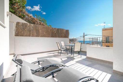 Apartment 2 -Balcony