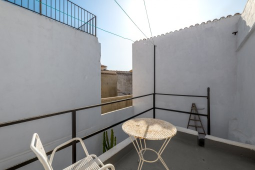 Further terrace in the patio
