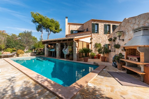 Wonderful villa with very high construction quality in Cala Santanyi