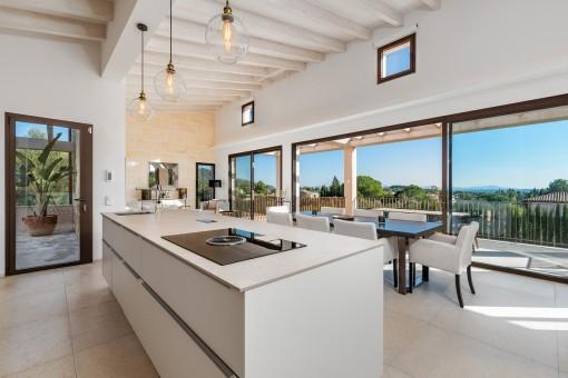 Modern, high-qulity kitchen
