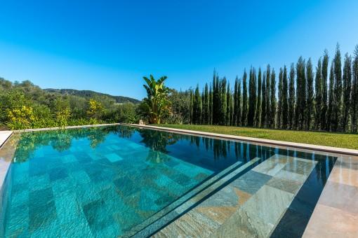 Beautiful laid-out pool area