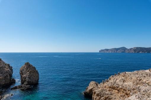 Stunning sea views