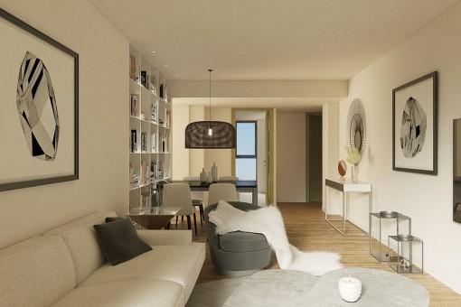 apartment in Santanyi