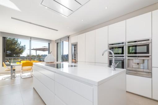 High-quality dream kitchen