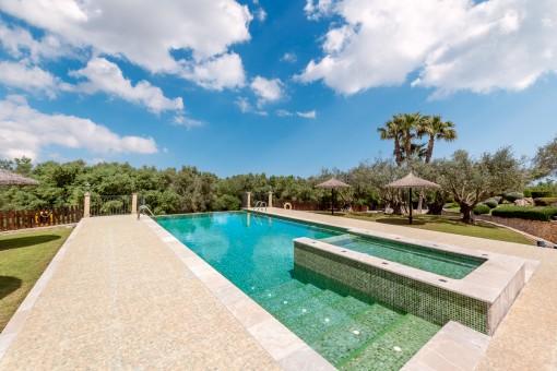 Beautiful, private pool