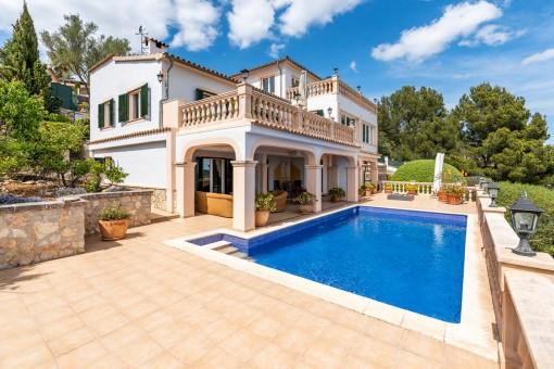 villa in Son Font