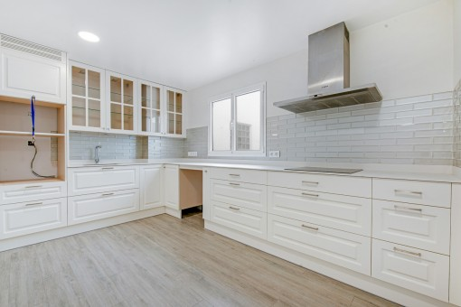 Large, renovated kitchen