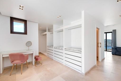 Dressing room en suite