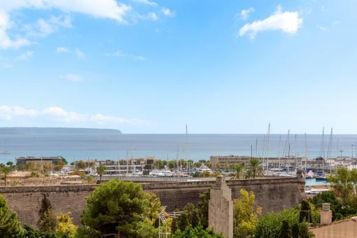Wonderful views to the sea