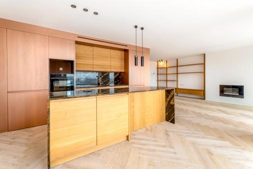 Stylish and modern kitchen