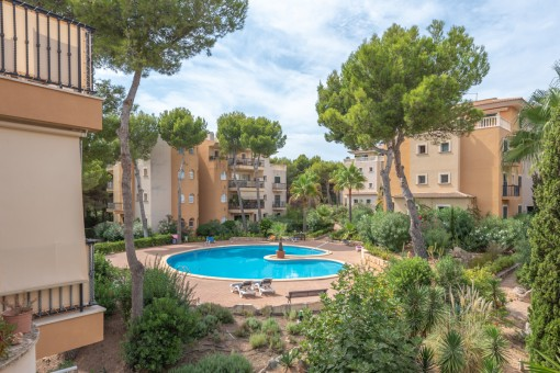 Bright apartment near to the beach in one of the most popular residential complexes in Cala Ratjada